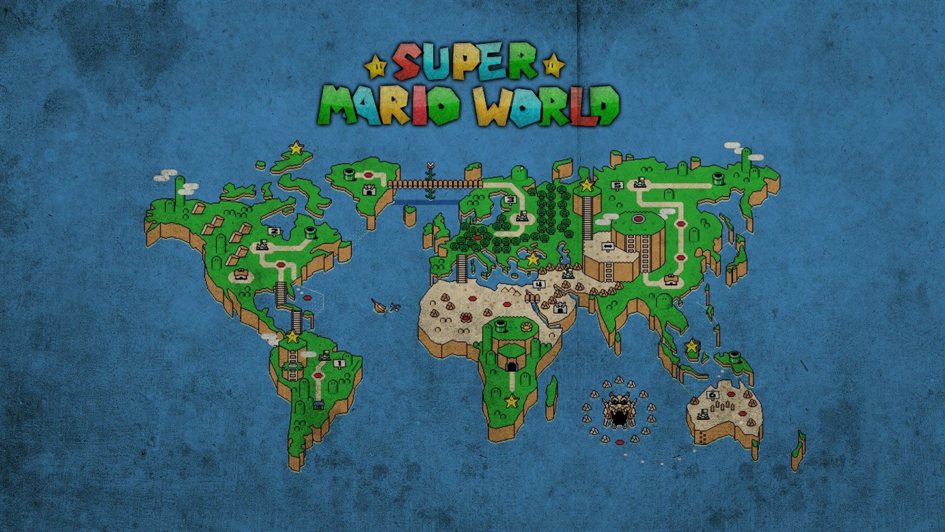 Super Mario World Wallpaper