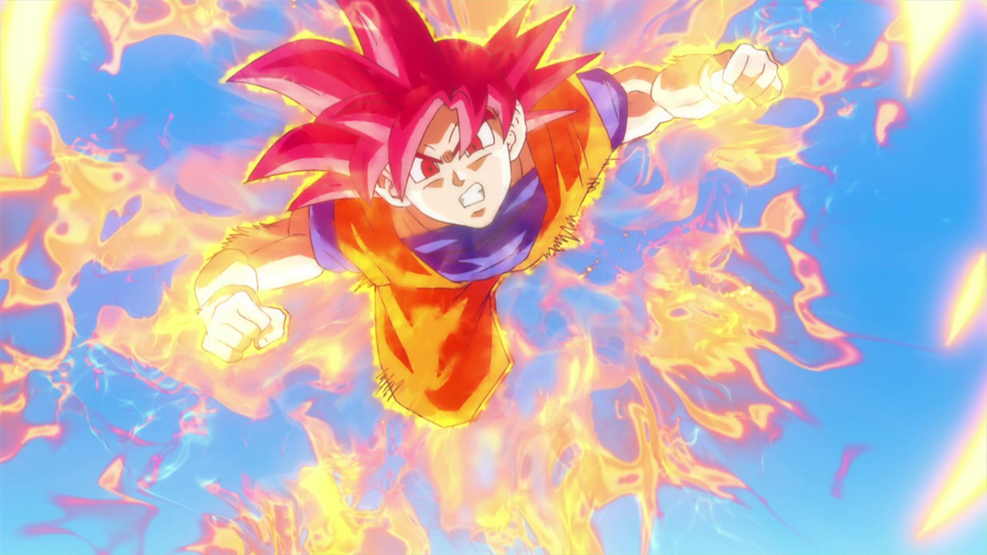 Download Super Saiyan God Goku Wallpaper Gallery