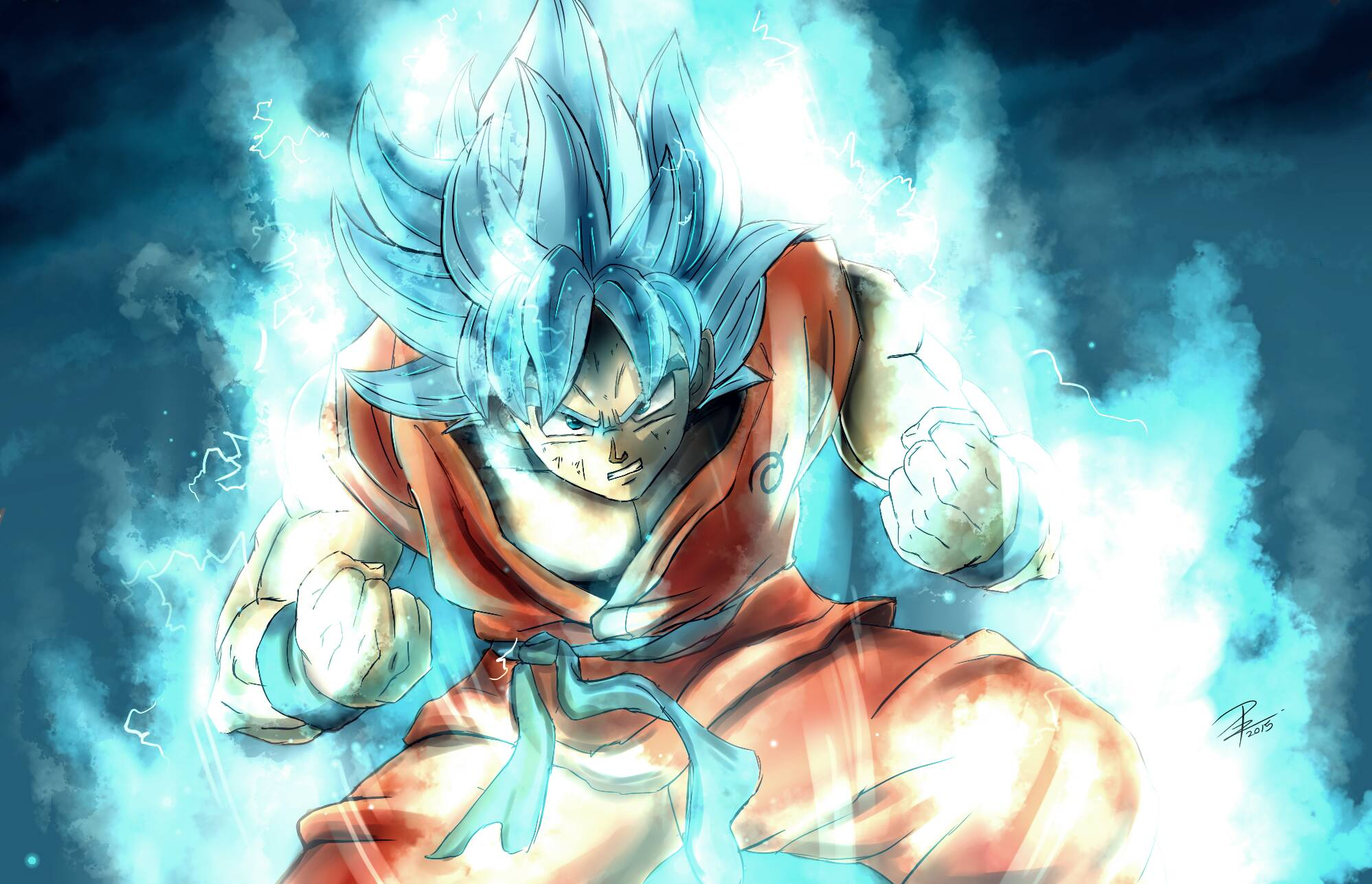 Super Saiyan HD Wallpaper