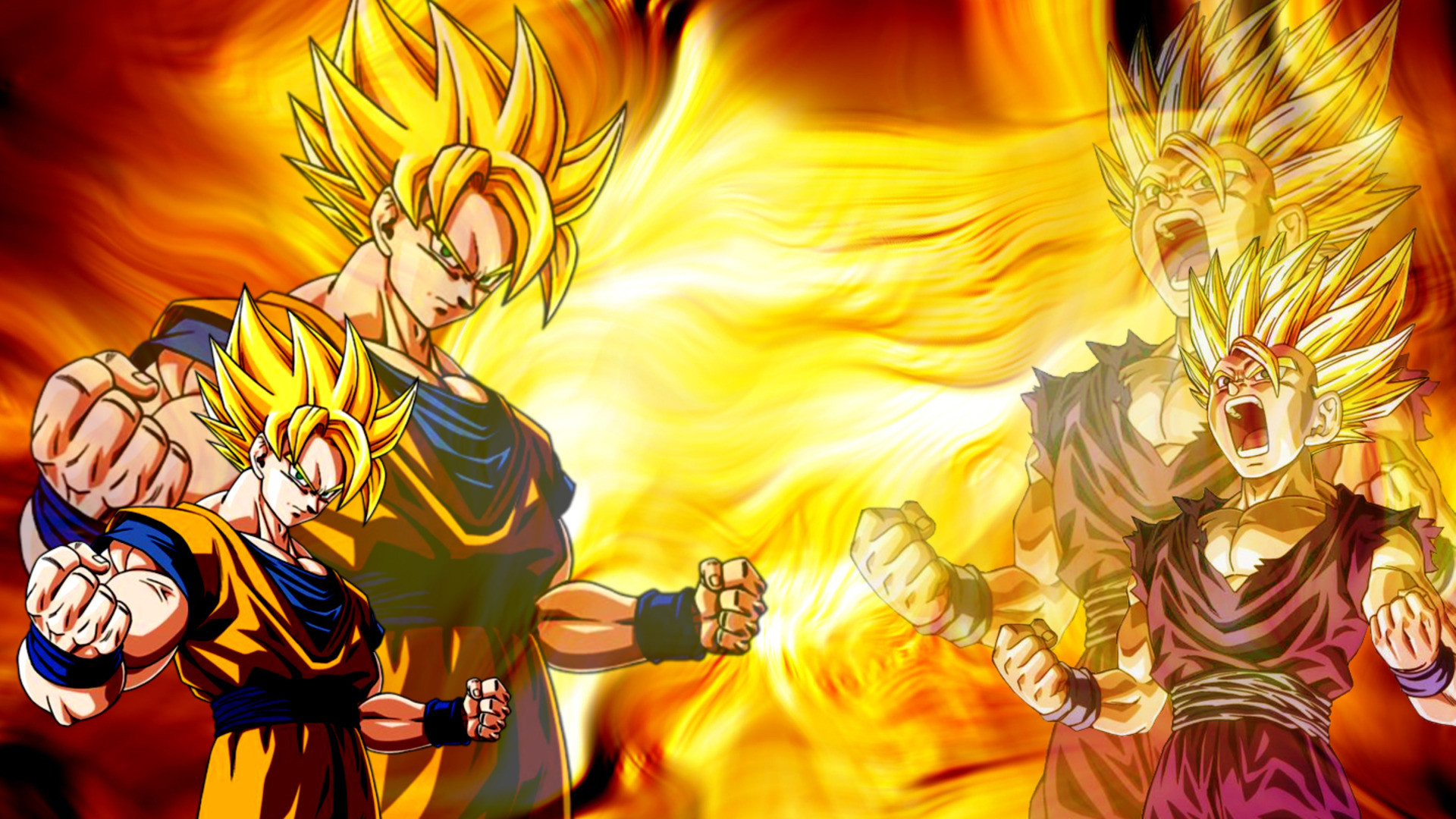Super Saiyans Wallpapers