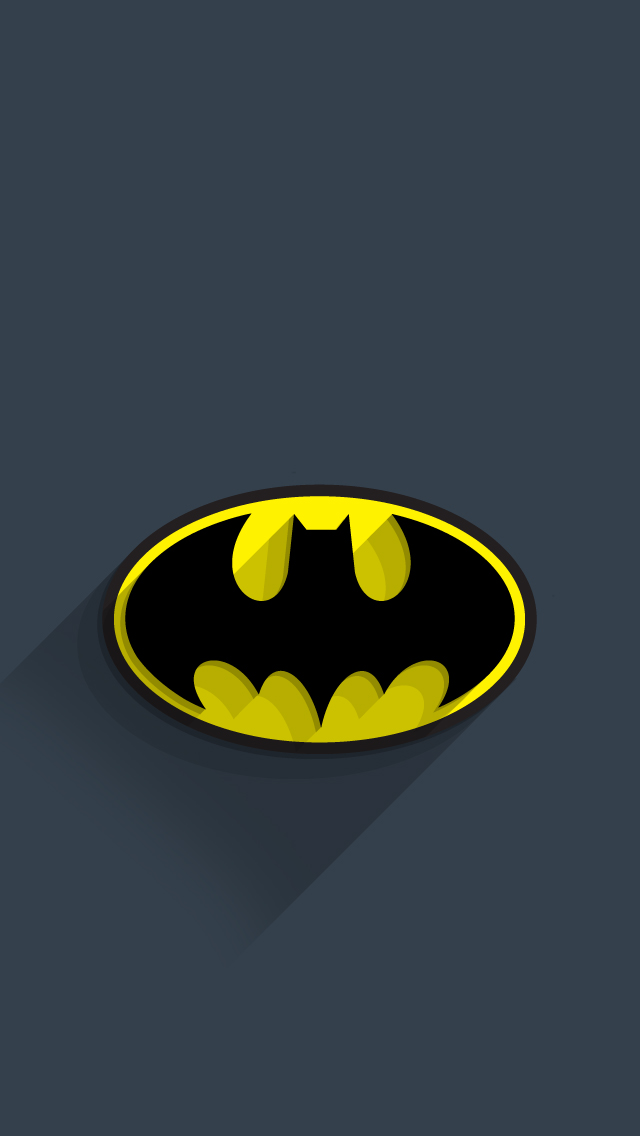 Superhero Logo Wallpaper For Iphone