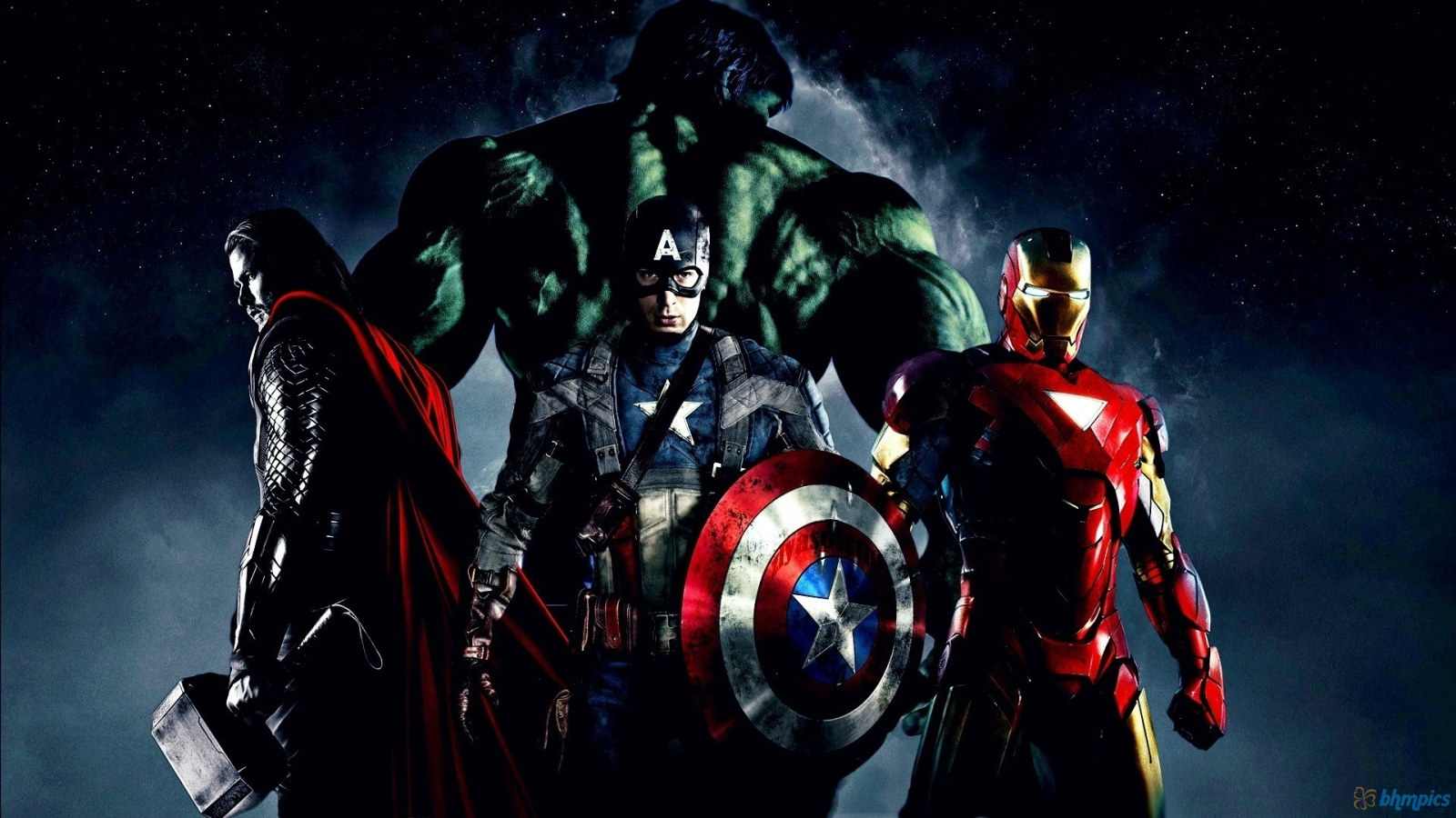 Superheroes Wallpaper