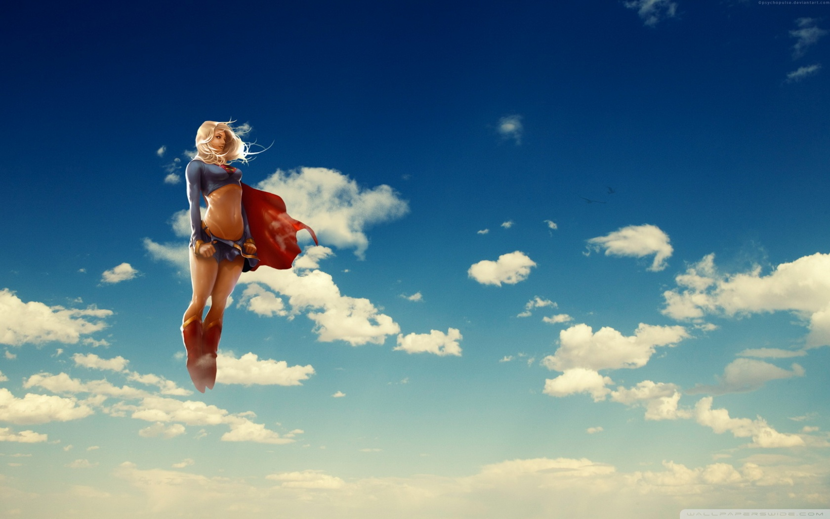Superheroine Wallpaper