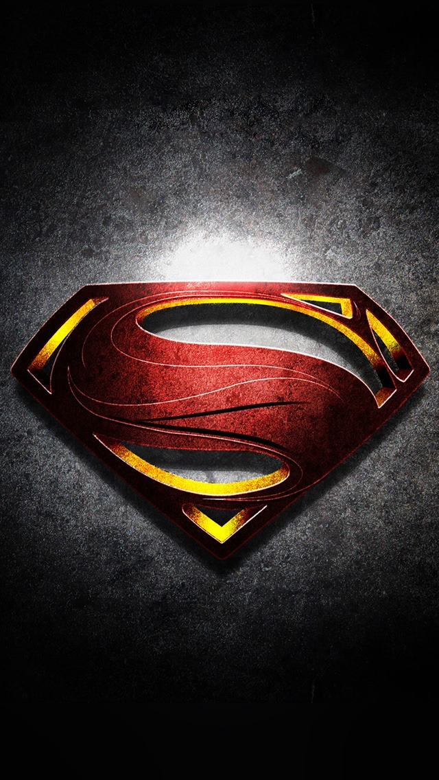 Superman Logo Iphone Wallpaper