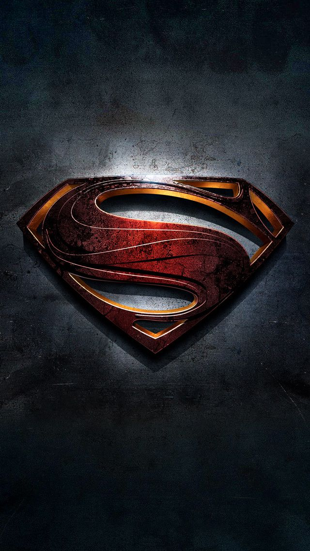 Download Superman Logo Wallpaper For Iphone Gallery