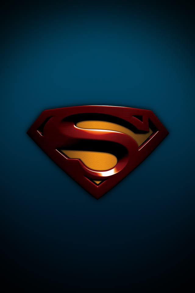 Superman Logo Wallpaper For Iphone
