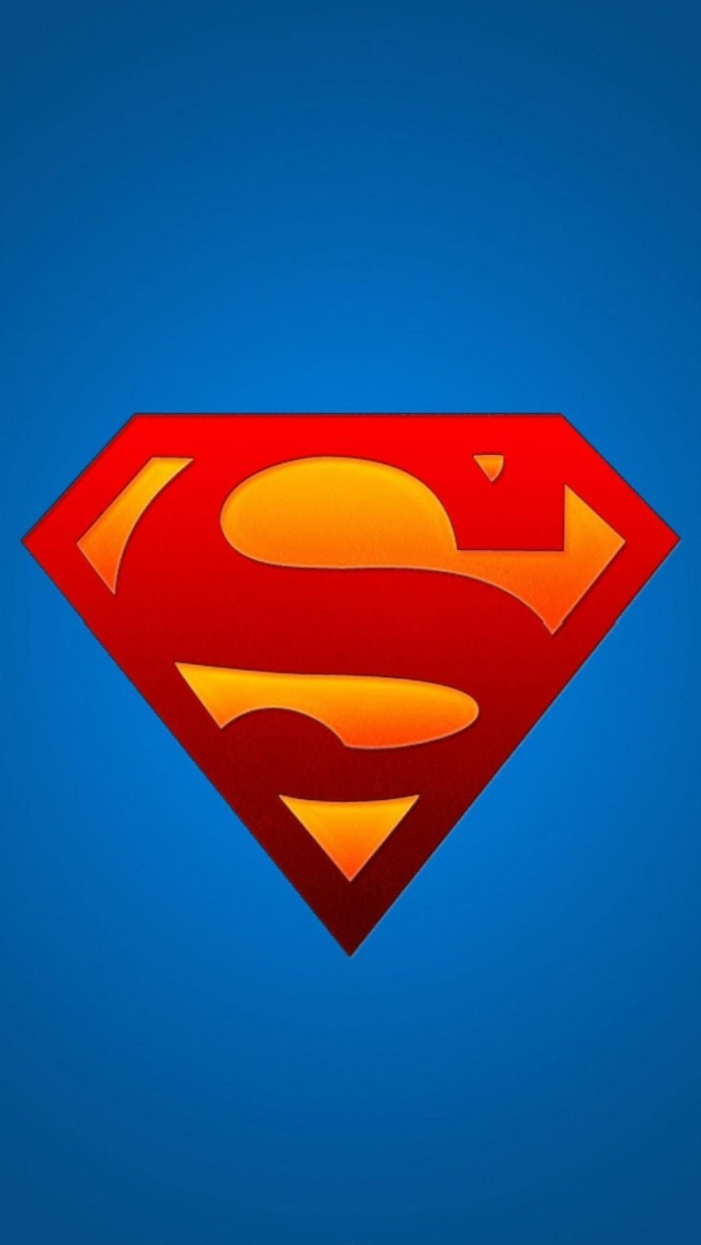 Download Superman Logo Wallpaper For Iphone 5 Gallery