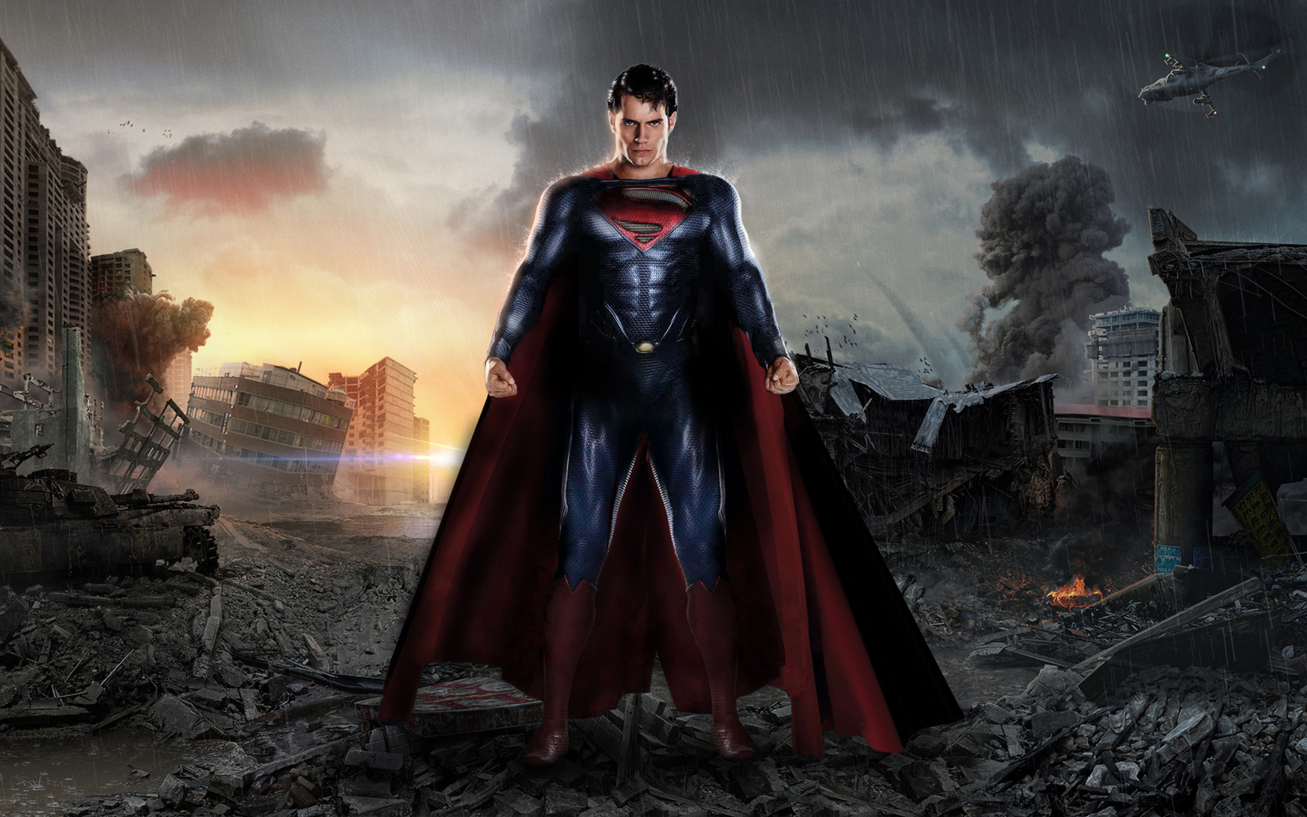 Superman Man Of Steel Wallpapers