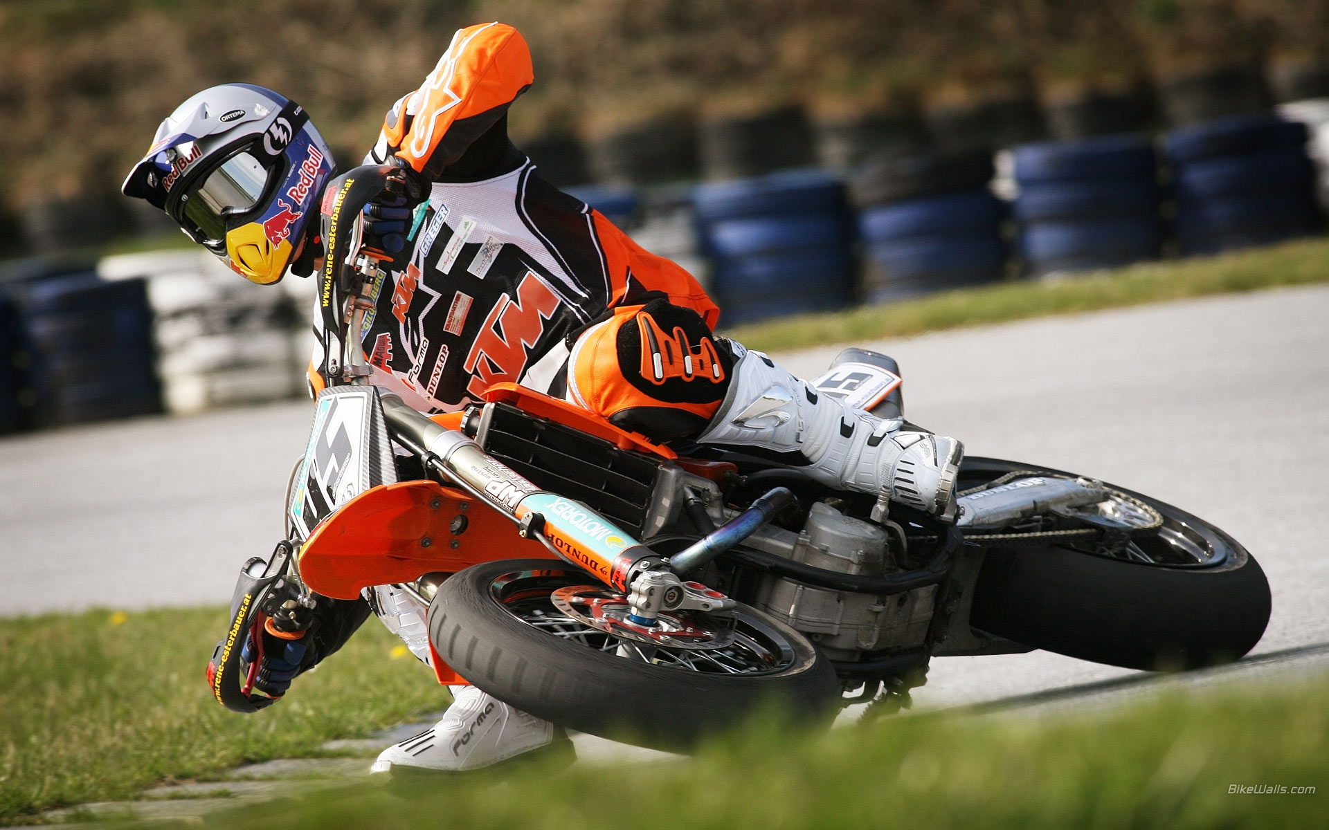 Supermoto Wallpaper