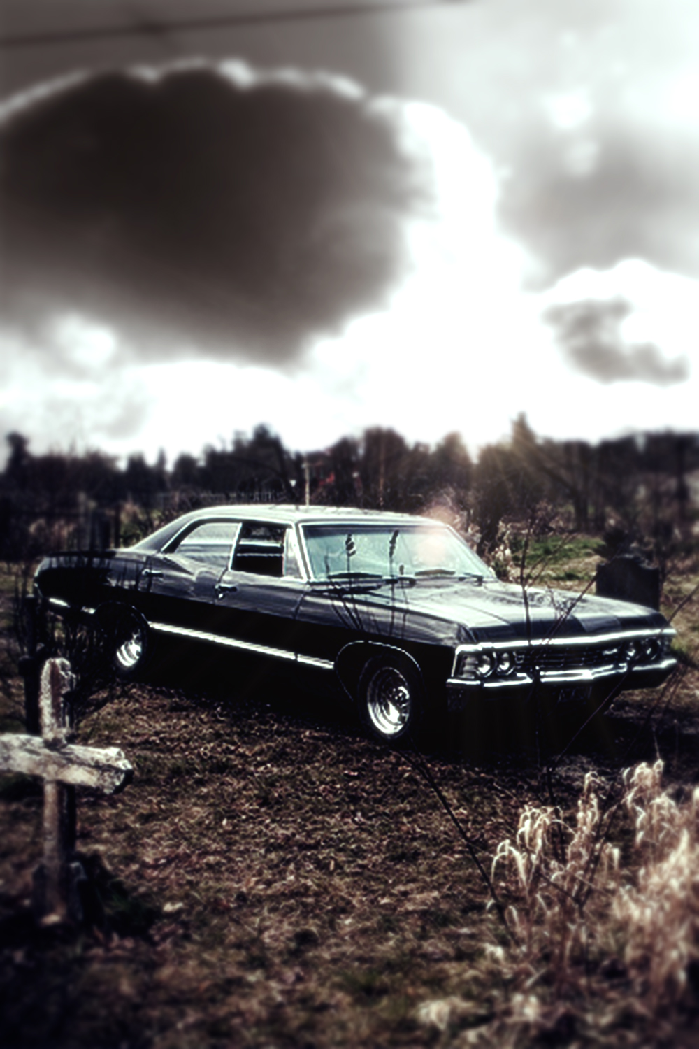Supernatural Impala Wallpaper