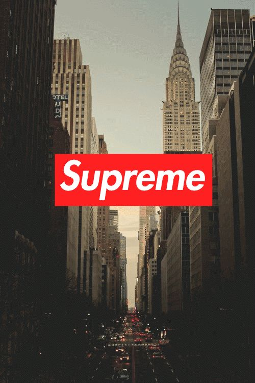 Supreme New York Wallpaper