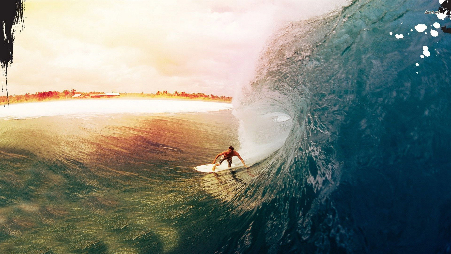 Surfers Wallpaper