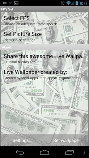 Swag Live Wallpaper