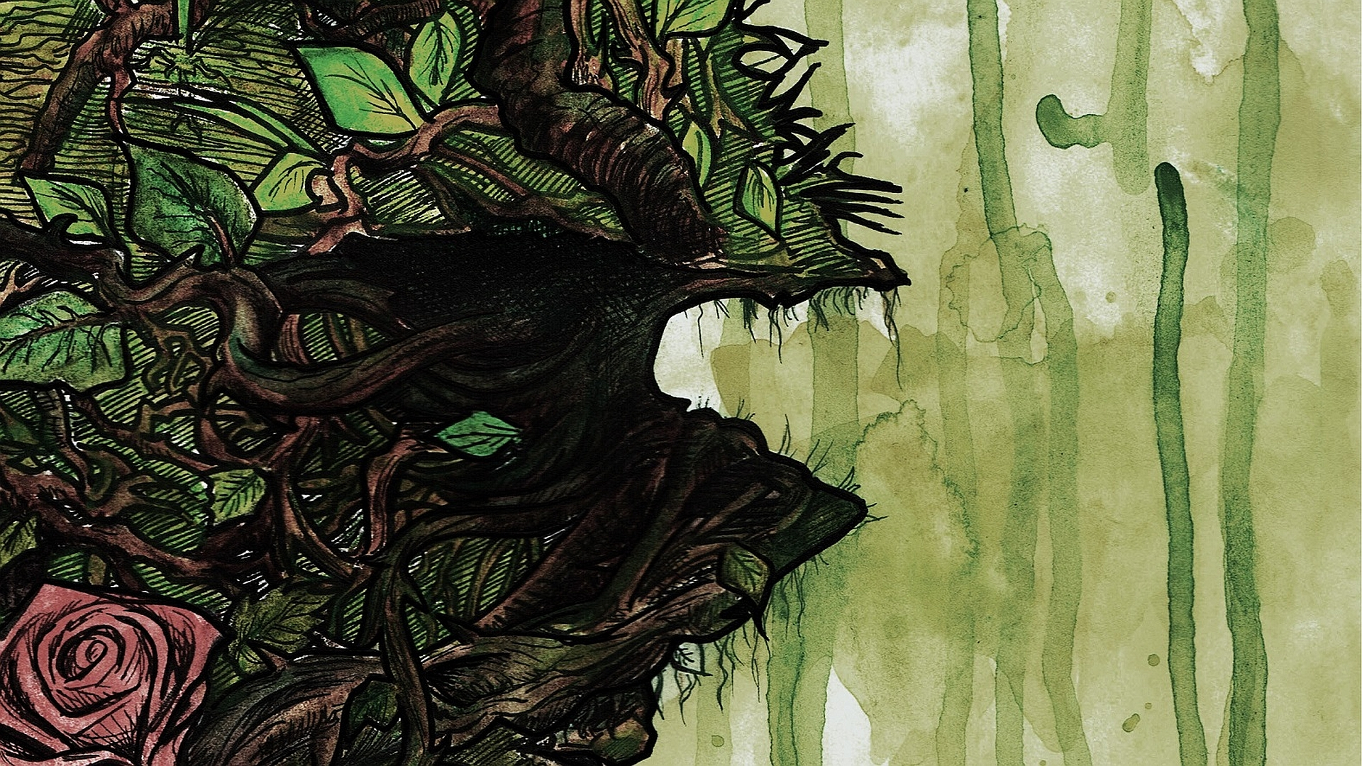Download Swamp Thing Wallpaper Gallery