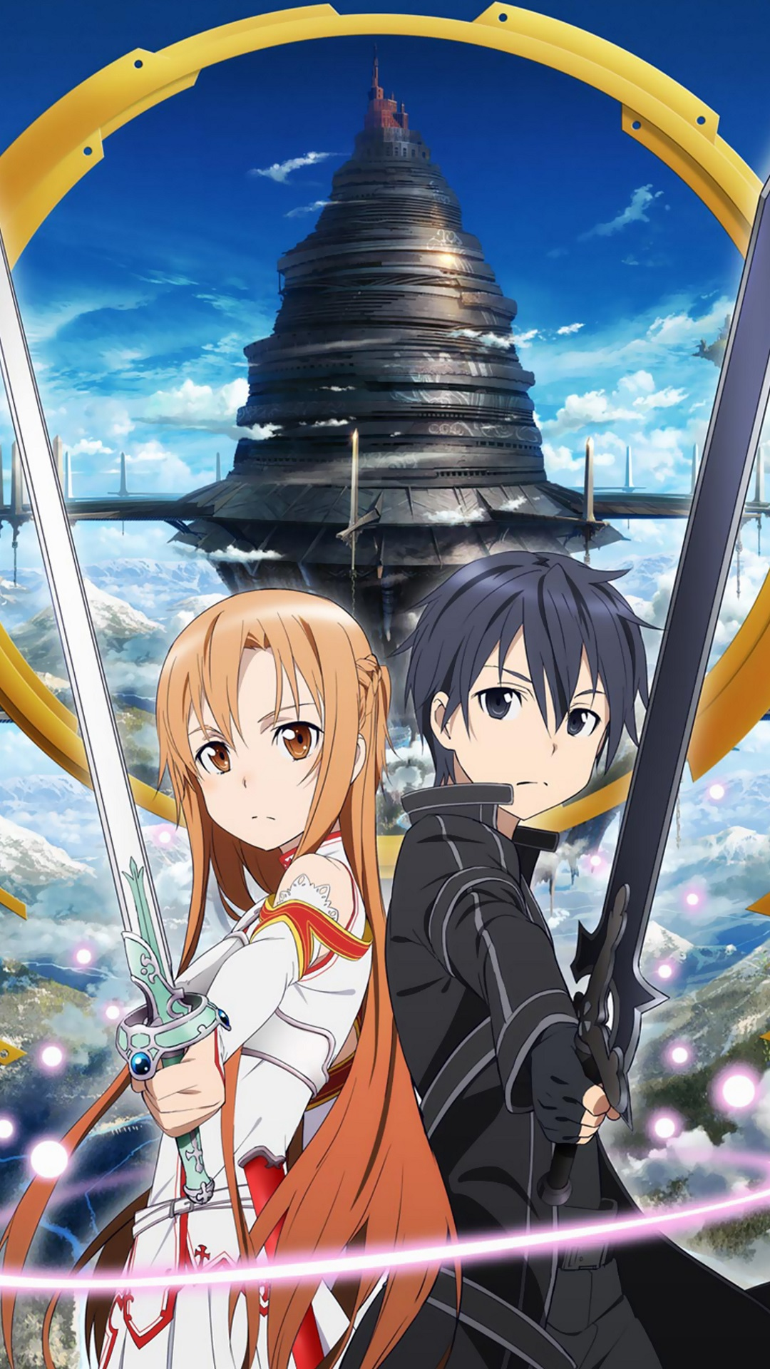 Sword Art Online Cell Phone Wallpaper