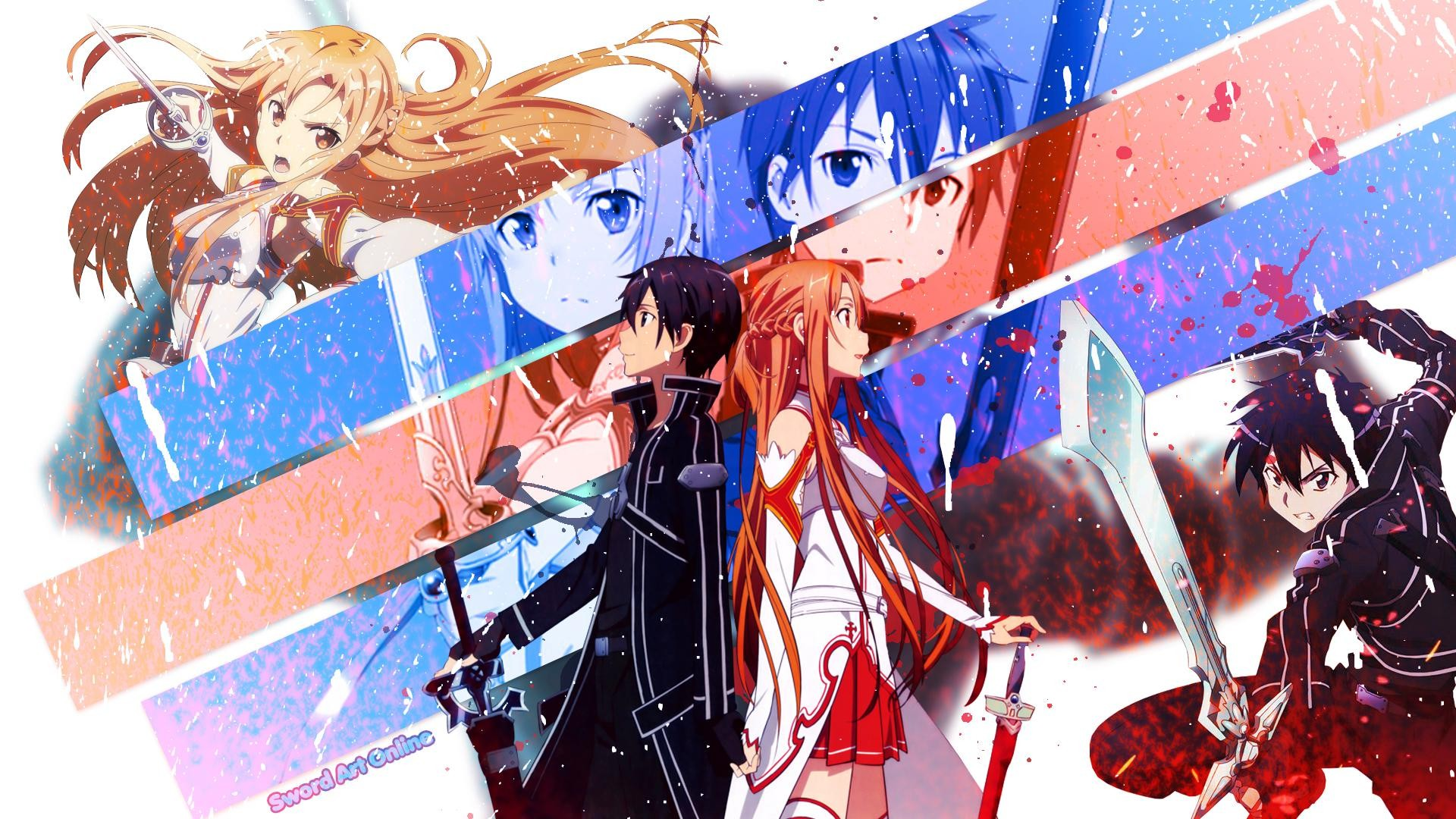 Sword Art Online Kirito And Asuna Wallpaper
