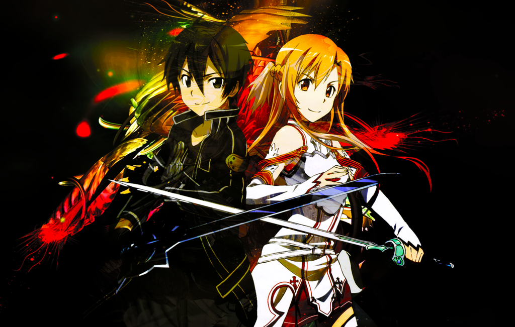 Download Sword Art Online Kirito And Asuna Wallpaper Gallery