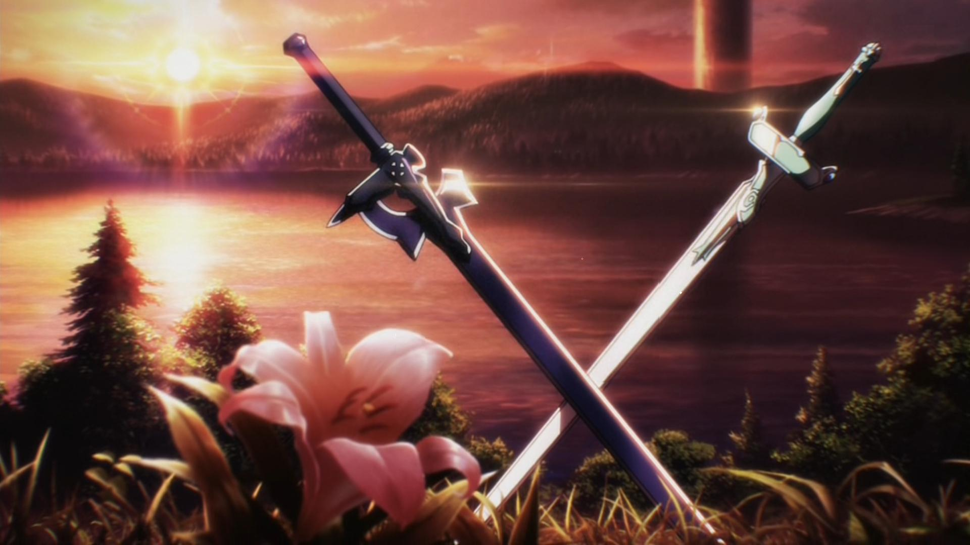 Sword Art Online Swords Wallpaper