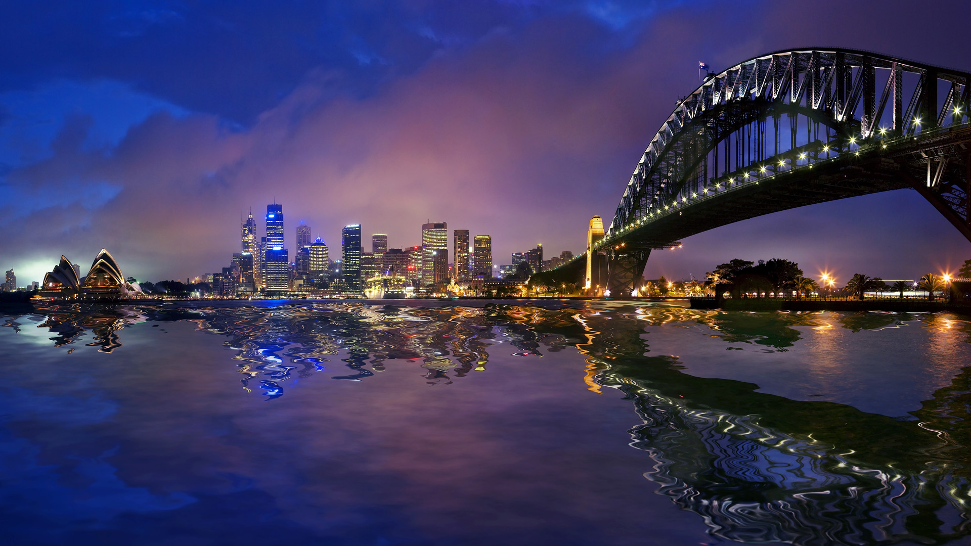 Sydney City Wallpaper