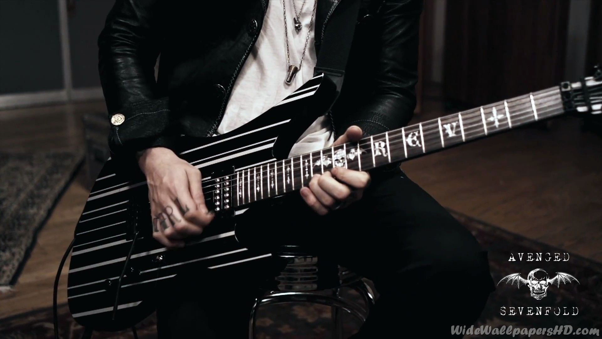 Synyster Gates Guitar Wallpaper
