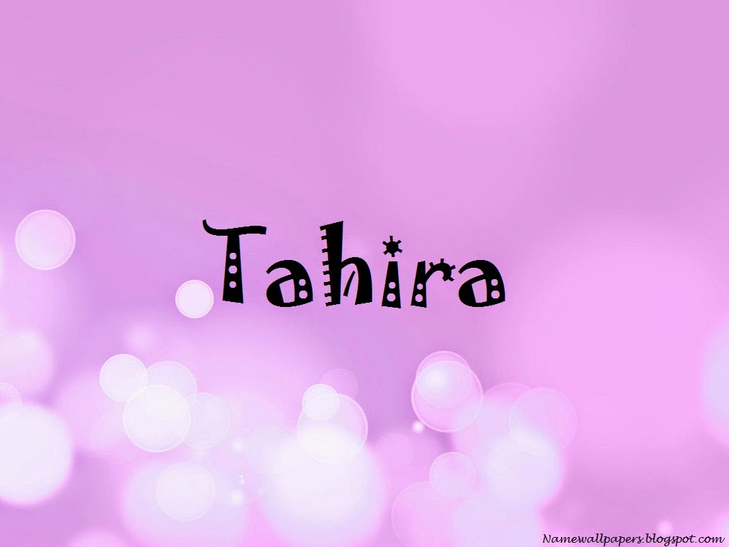 Tahira Name Wallpaper