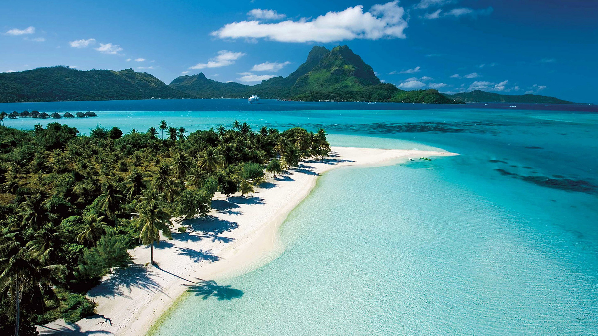 Tahiti Beach Wallpaper