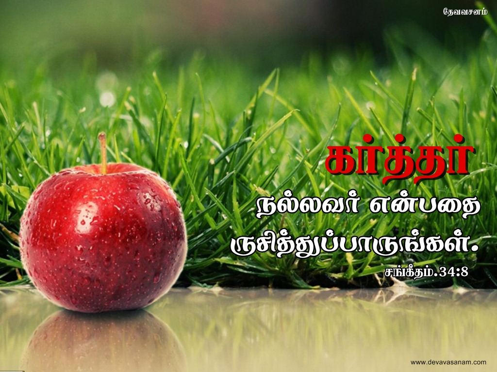 Tamil Bible Words Wallpaper Free Download