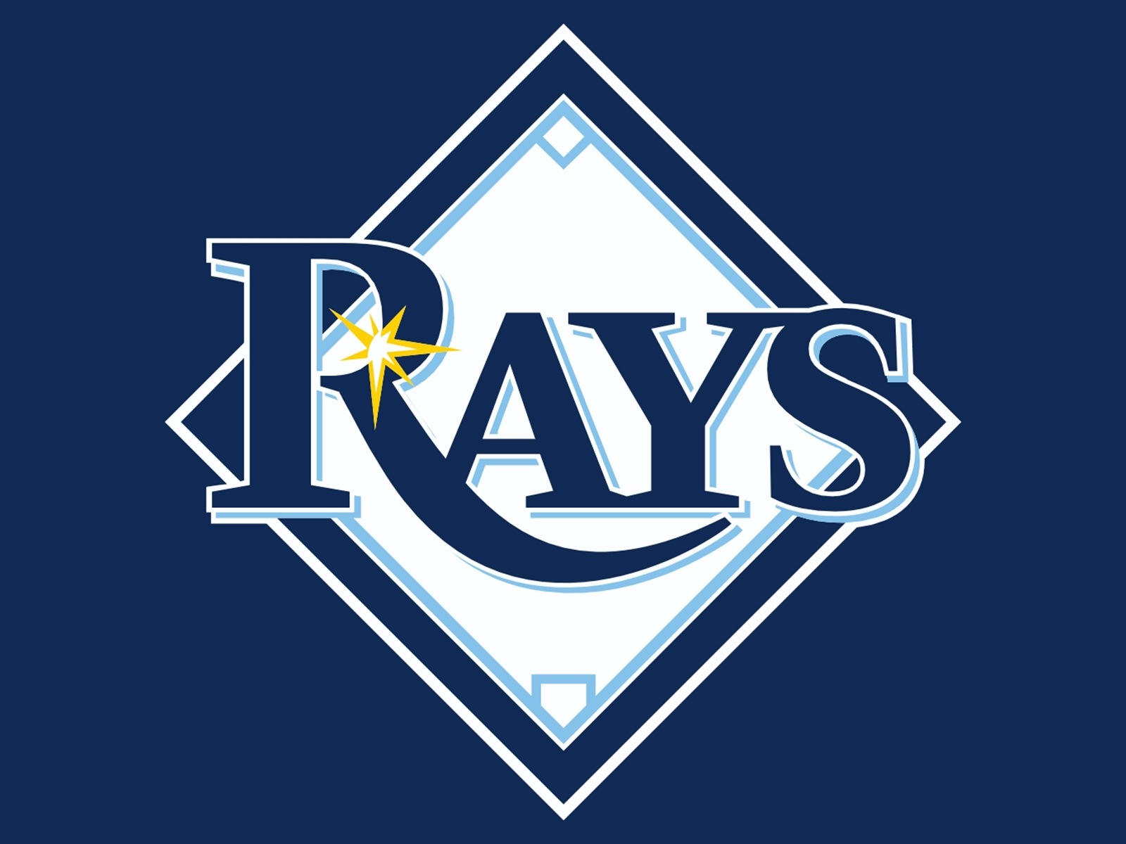 Tampa Bay Rays Logo Wallpaper