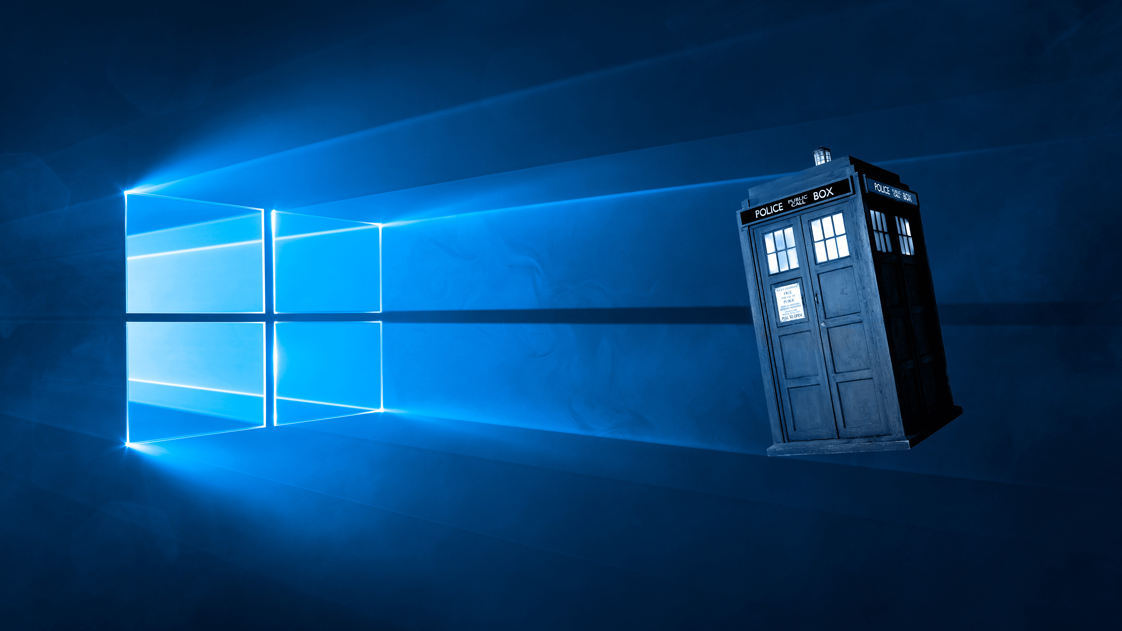 Tardis Blue Wallpaper