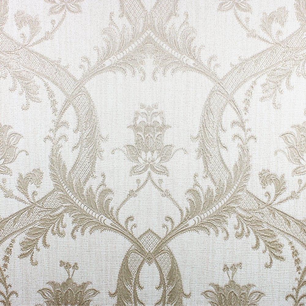 Taupe And Gold Wallpaper