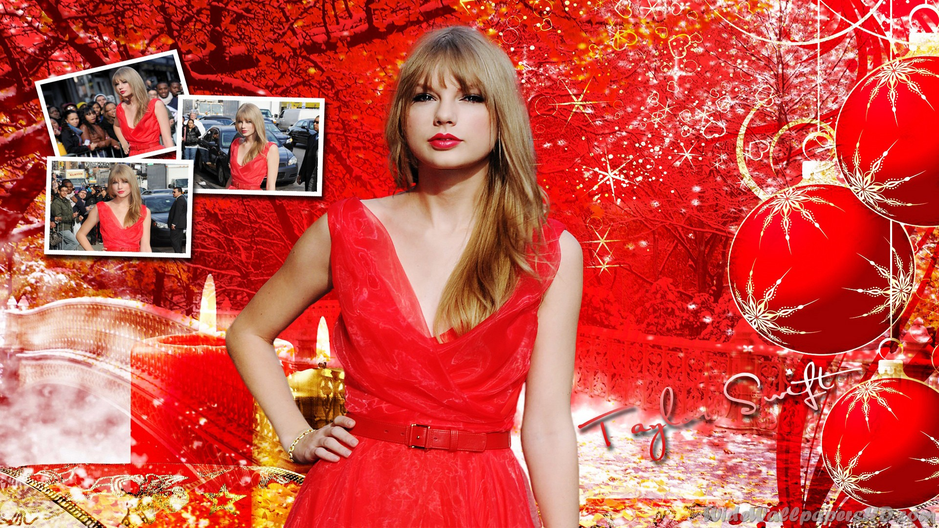 Download Taylor Swift Christmas Wallpaper Gallery