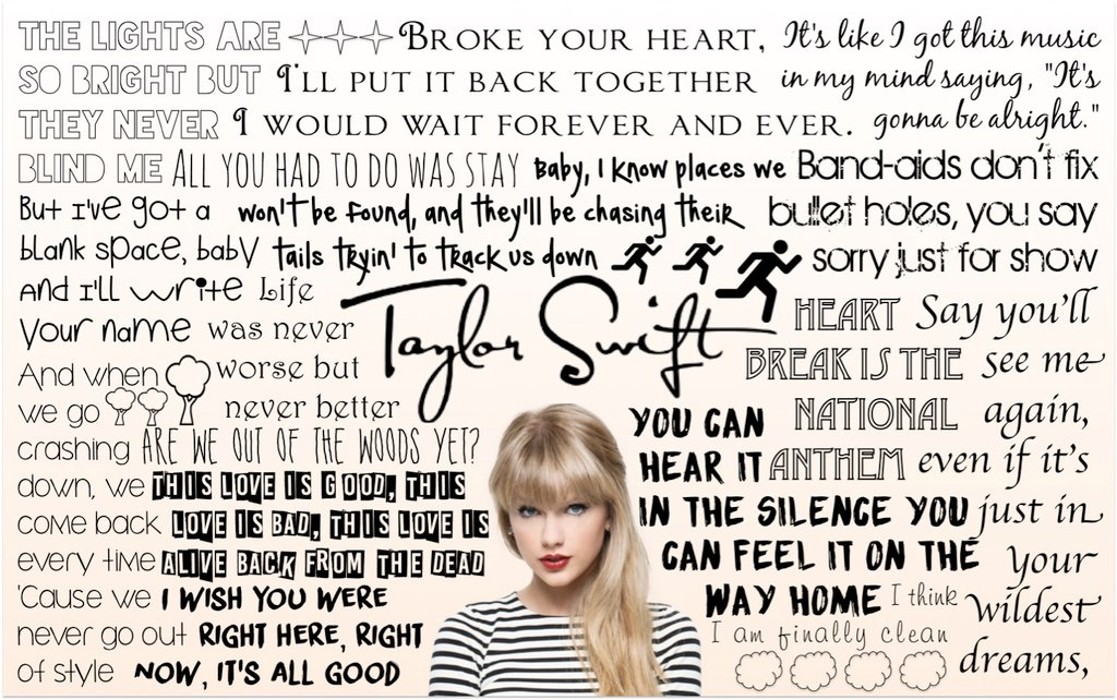 Taylor Swift Lyrics Wallpaper