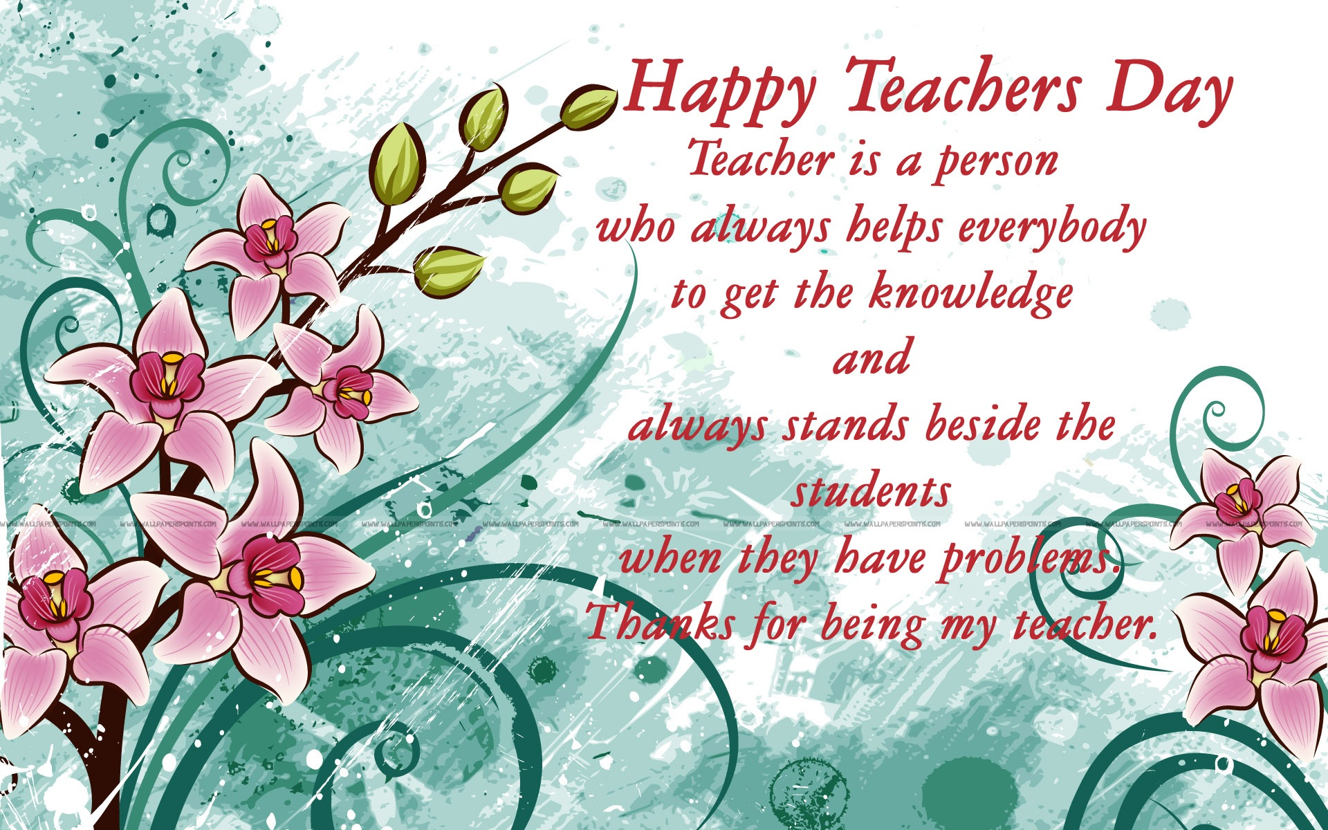 Teachers Day Special Wallpaper