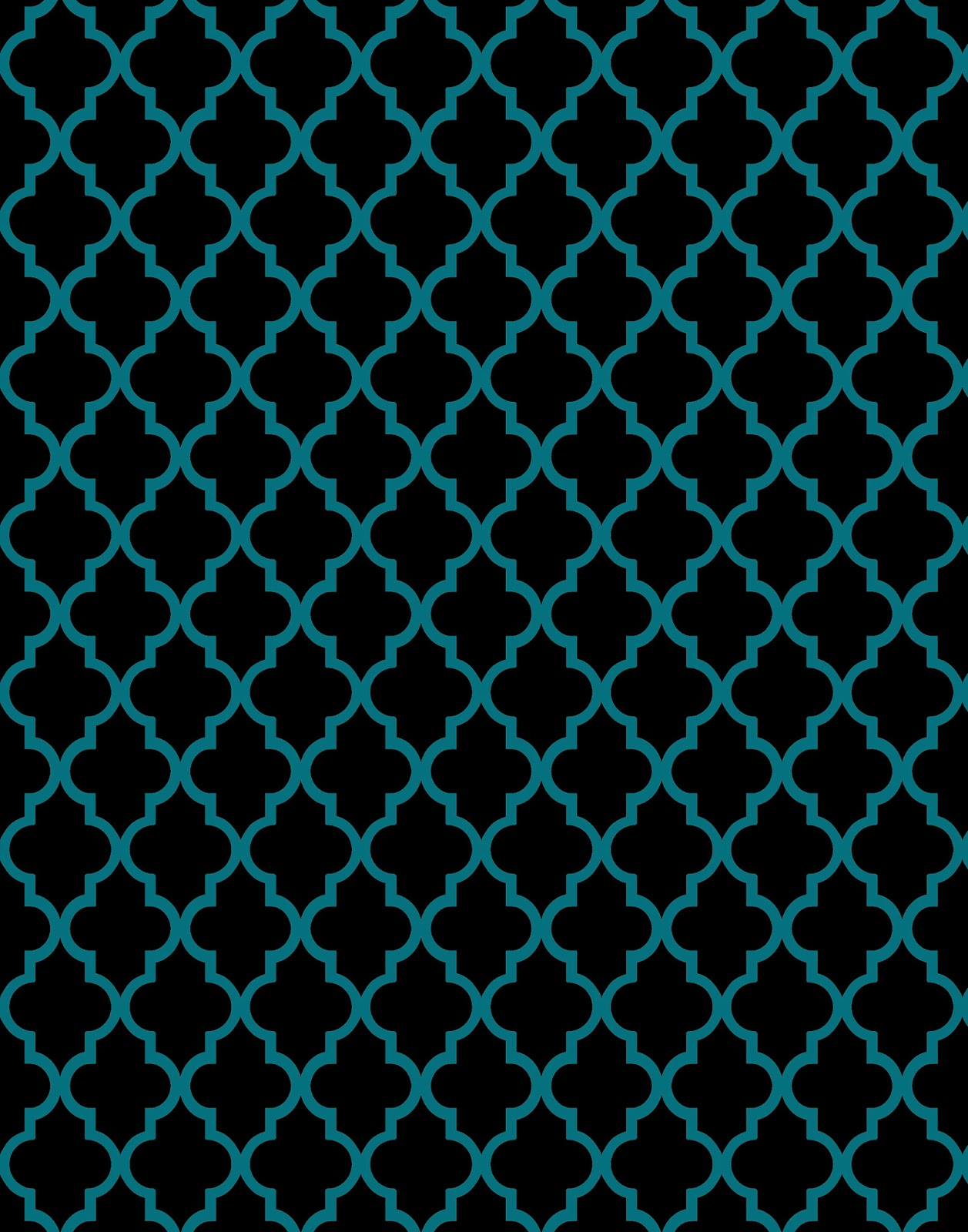 Teal And Black Wallpaper