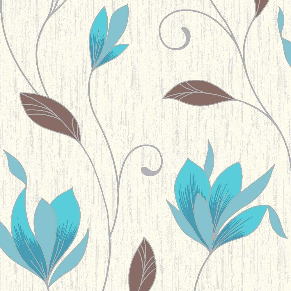 Download Teal And Brown Wallpaper Uk Gallery