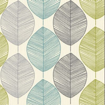 Teal And Lime Green Wallpaper