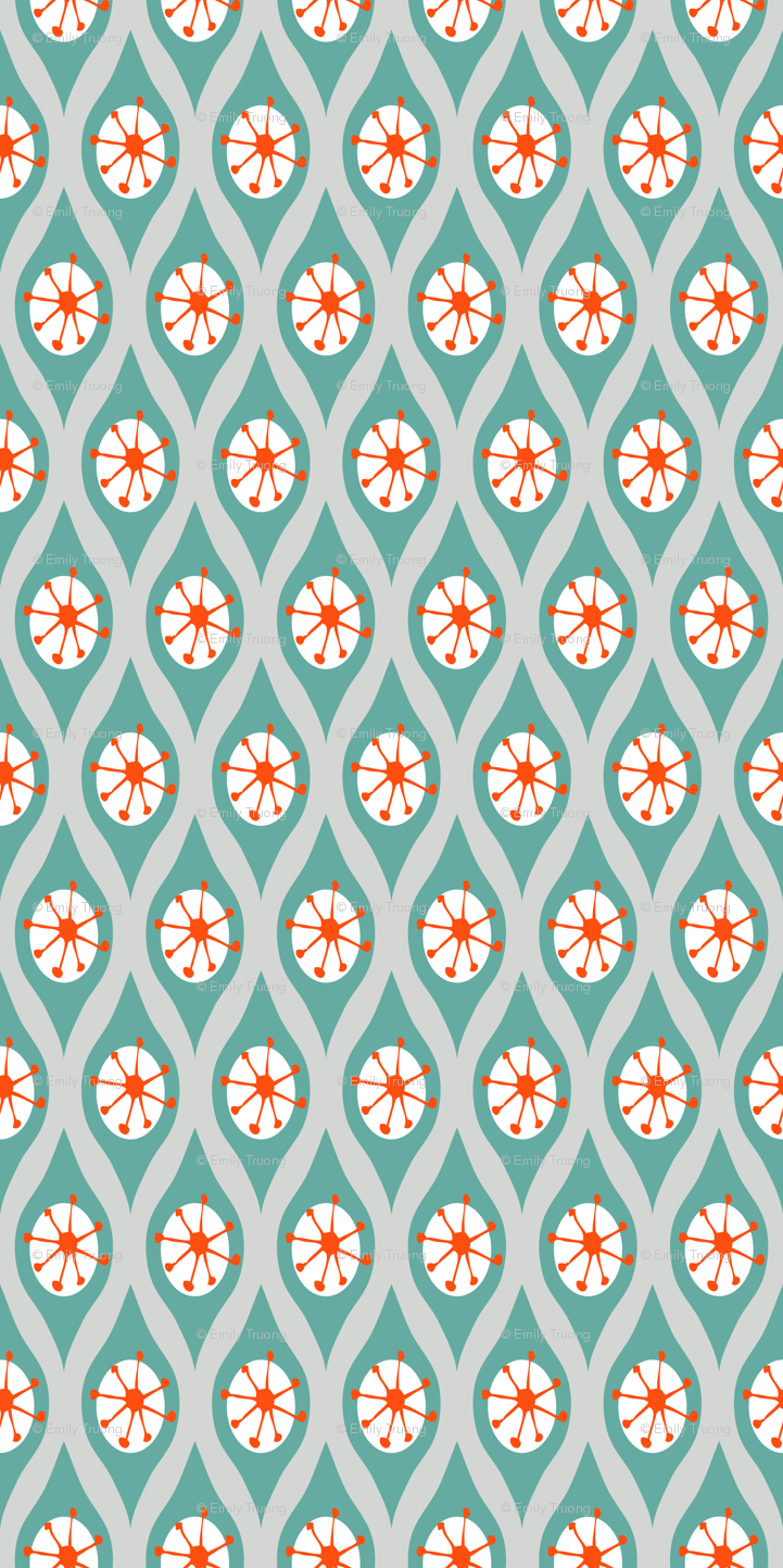 Teal And Orange Wallpaper