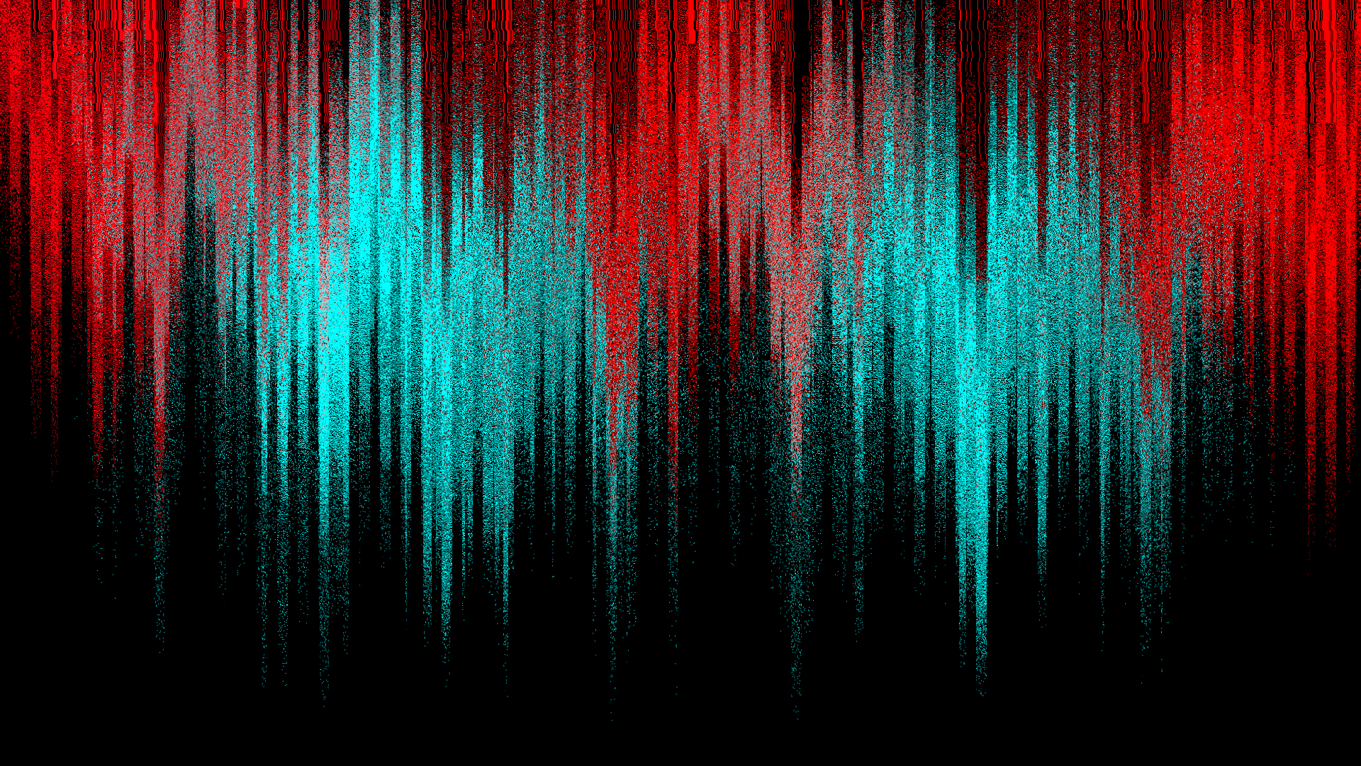 Teal And Red Wallpaper