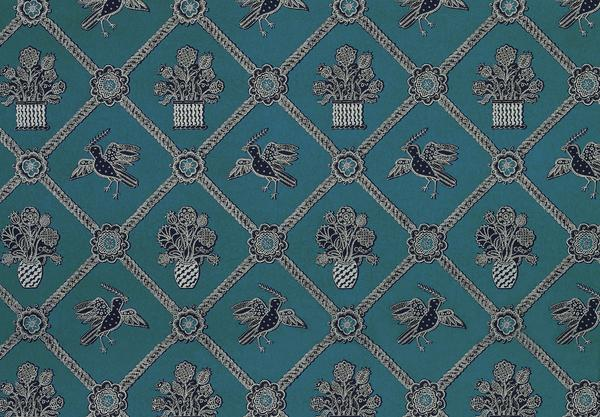 Teal Black And Silver Wallpaper