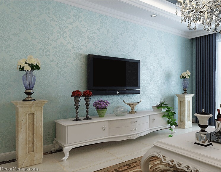 teal wallpaper for living room teal wallpaper for living room gallery 20622