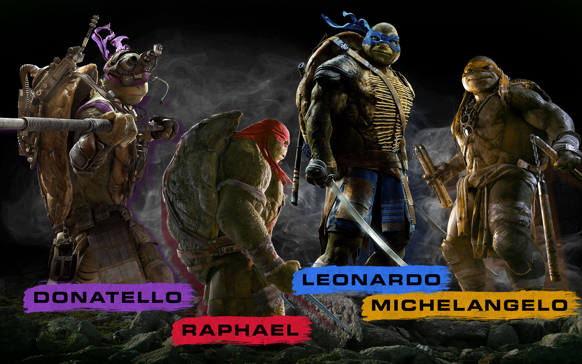 Teenage Mutant Ninja Turtles 2014 Wallpaper
