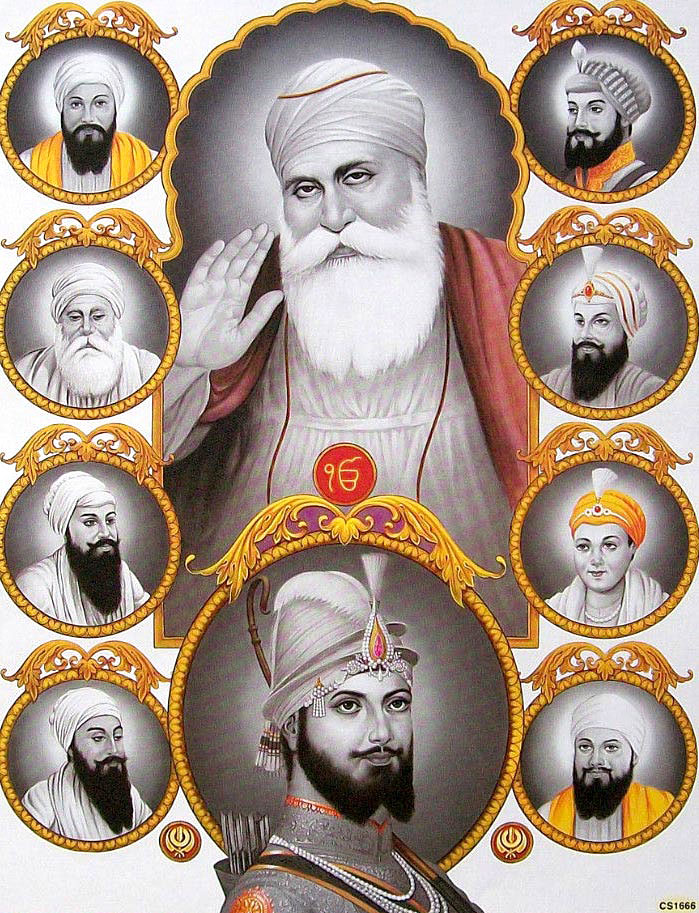 Ten Gurus Wallpapers Free Download