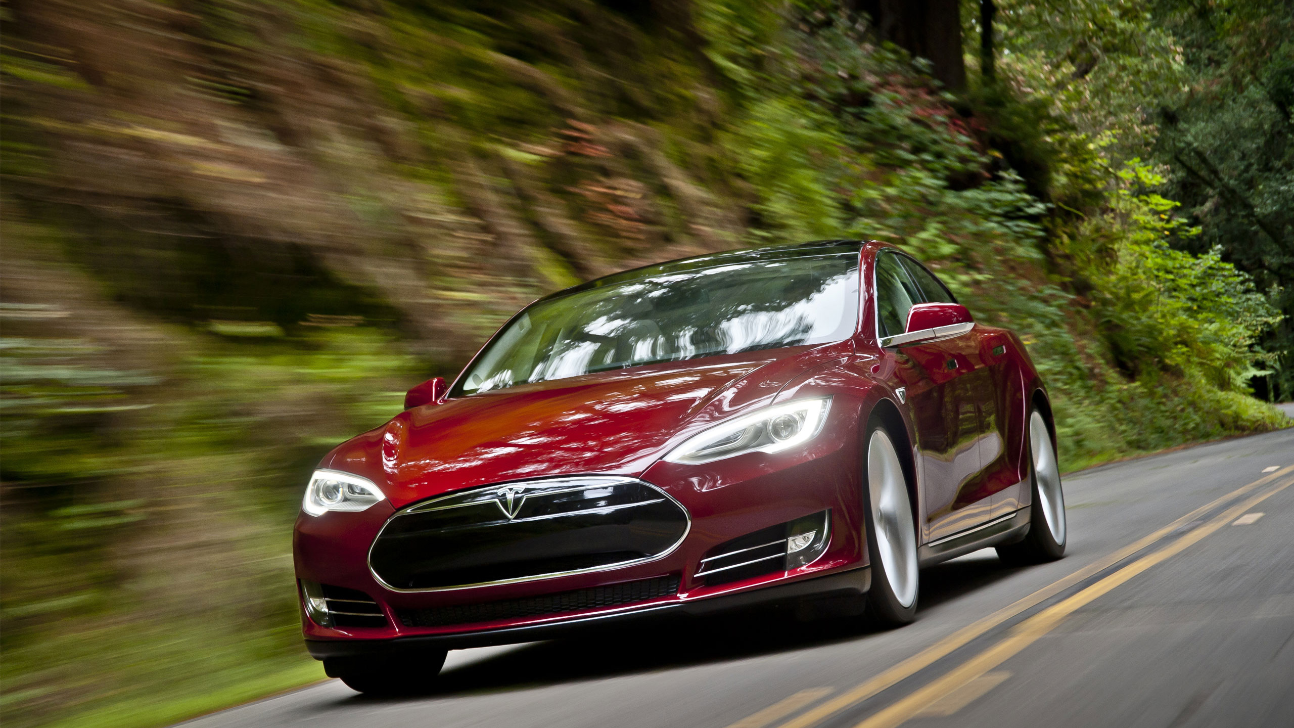 Tesla Model S Wallpaper HD