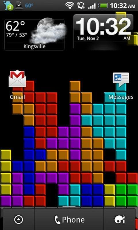 Tetris Live Wallpaper