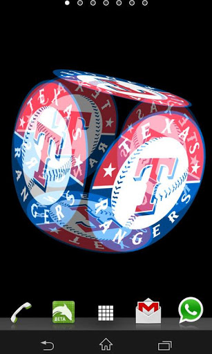 Texas Rangers Live Wallpaper