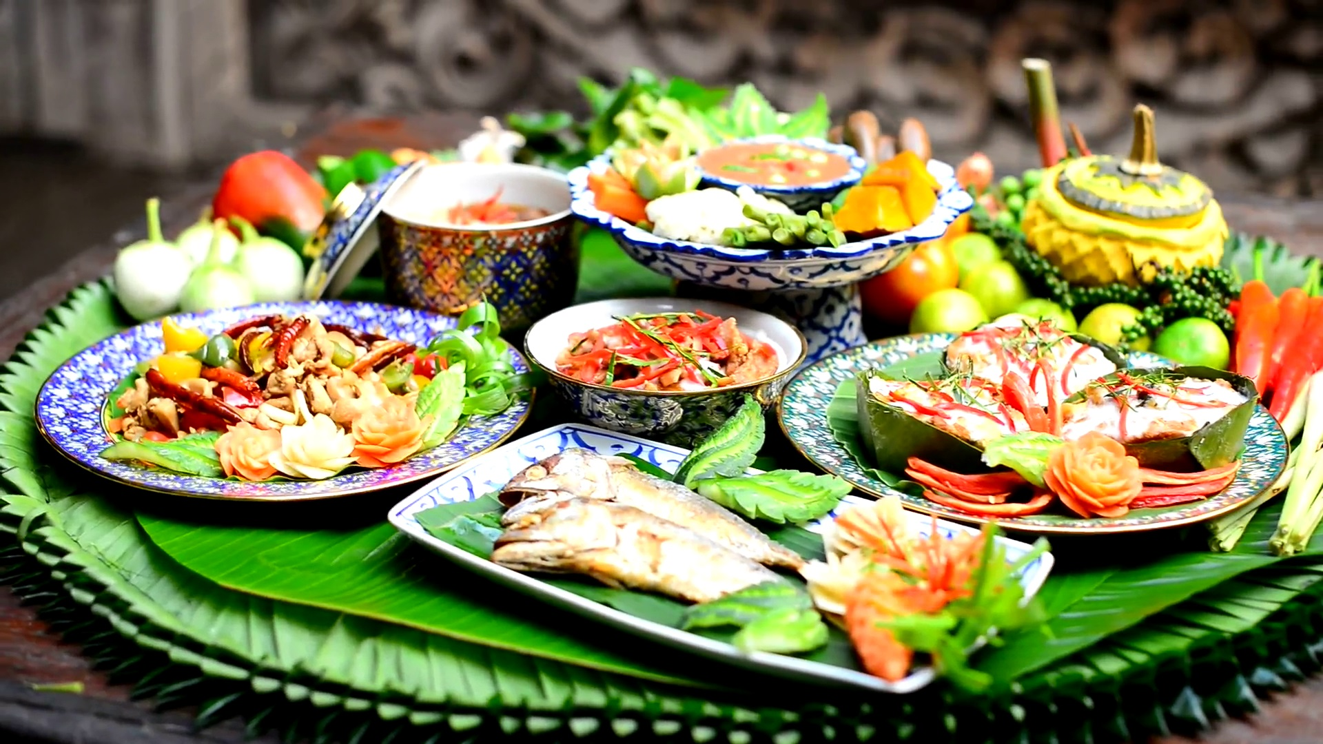 Thai Food Wallpaper