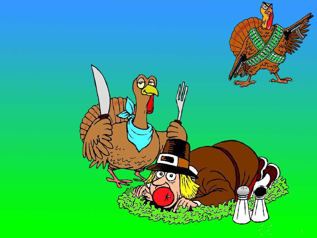 Thanksgiving Funny Wallpaper