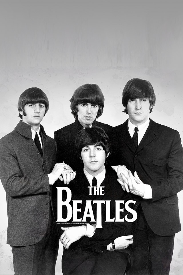 The Beatles Iphone Wallpaper