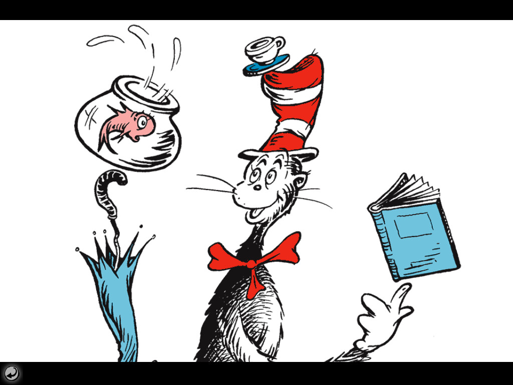 The Cat In The Hat Wallpaper
