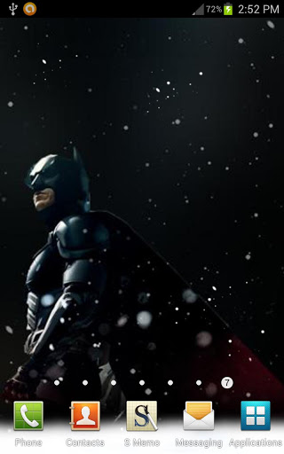 The Dark Knight Rises Live Wallpaper